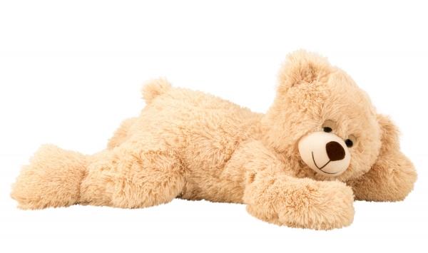 Schlafbär Teddybär 60 cm - der kuschelige Freund für Ihren Nachwuchs